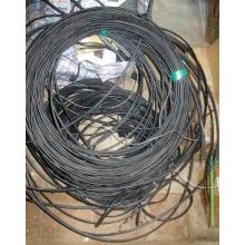 Оптический кабель Б/У для внешней прокладки (с металлическим тросом) в Иваново, оптокабель БУ (Иваново)