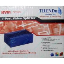 Видеосплиттер TRENDnet KVM TK-V400S (4-Port) в Иваново, разветвитель видеосигнала TRENDnet KVM TK-V400S (Иваново)