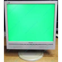 """Б/У монитор 17"""" Philips 170B с колонками и USB-хабом в Иваново, белый (Иваново)"""