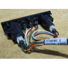 HP 224998-001 в Иваново, кнопка включения питания HP 224998-001 с кабелем для сервера HP ML370 G4 (Иваново)
