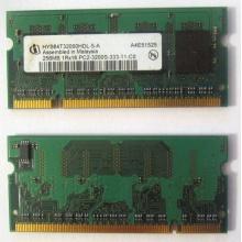 Модуль памяти для ноутбуков 256MB DDR2 SODIMM PC3200 (Иваново)